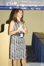 Vivian Kobeh (Communications Director at Nokia) at the January 19-21, 2011 Enterprise Social  Conference in Miami