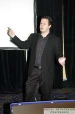 Rob Gonda (Creative Technology Lead at Sapient Nitro) at the 2011 Social  Conference in Miami