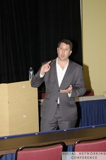 Chris Harvin (Partner at Sanitas International) at the 2011 Social  Conference in Miami