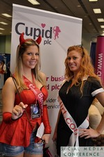 Cupid.com PLC (Platinum Sponsor) at the January 19-21, 2011 Enterprise Social  Conference in Miami