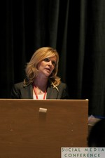 Kristin Ludwig (ASCO) at the 2011 Social  Conference in Miami