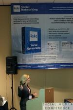 Kristin Ludwig (ASCO) at SNC2011 Miami