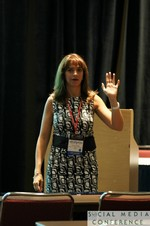 Vivian Kobeh (Communications Director at Nokia) at Miami SNC2011