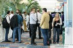Networking in the Hall at the 2011 Social  Conference in Miami